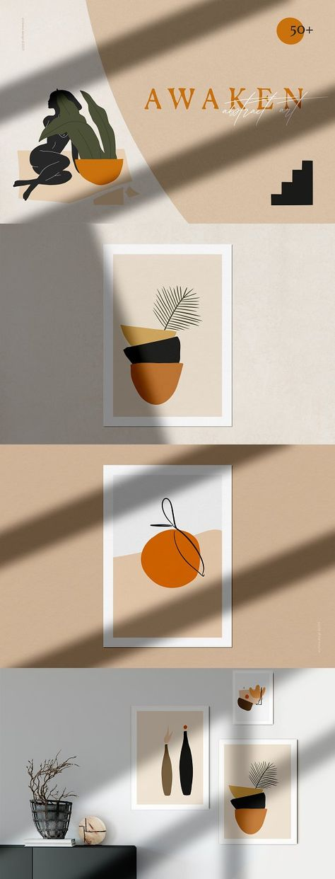 Abstract Trendy Shapes