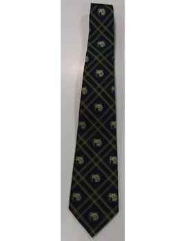Bulldog Woven Tie. $17.95.  Order now & ship today! Call 704-233-8025.
