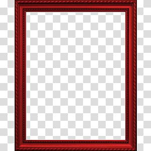 Red Picture Frame Transparent Background Png Clipart Red Picture Frames Red Frame Transparent Background