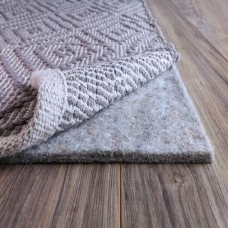 Fibersoft Extra Thick 100 Felt Rug Pad For All Floors Grey Rug Pad Cool Rugs Rugs
