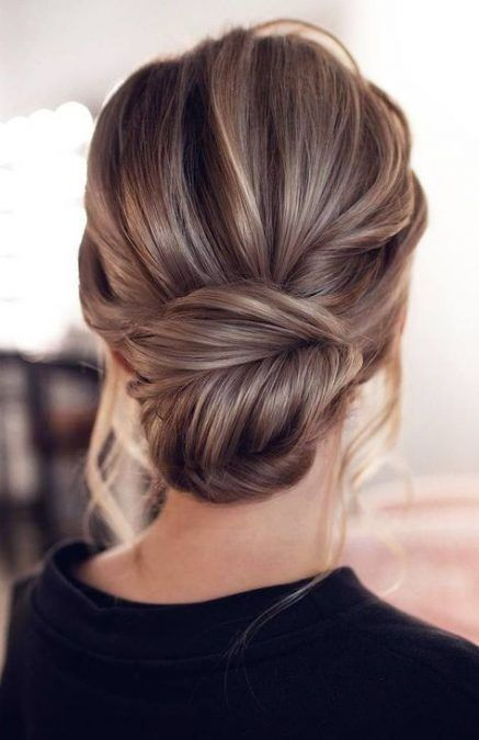 New Hairstyles For Medium Length Hair Half Up Style Ideas Simple Wedding Hairstyles Hair Styles Medium Length Hair Styles