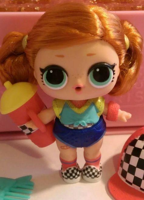 Yellow Baby Dog Girl Gift 2pcs LOL Surprise Pets Doll Animals Big Sister Dusk