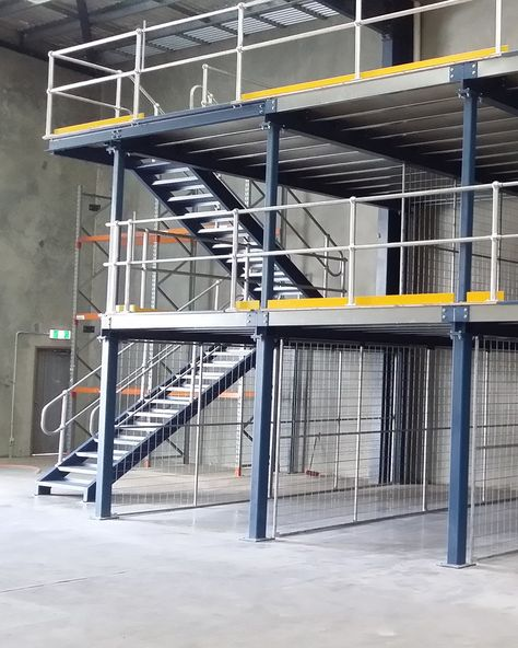 Mezzanine Floors - Storage and Office   Sydney   Advanced Warehouse Structures