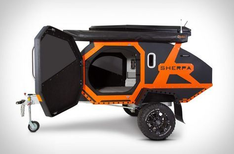 Sherpa Trailer Is Half Off Road Camper Half Transformer | camper