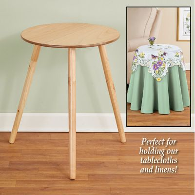 Round Wooden Side Accent Table 20 Diam Accent Table Round