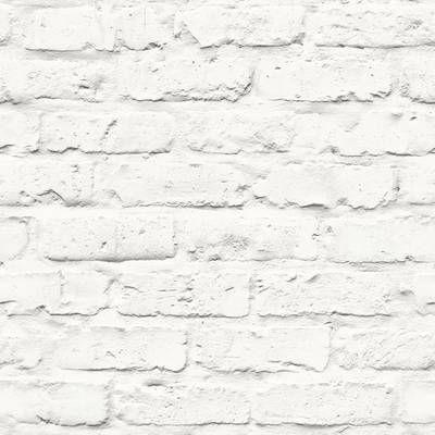 Alvara 34 45 X 20 87 Brick Wallpaper Roll Removable Brick Wallpaper Faux Brick Faux Brick Wallpaper