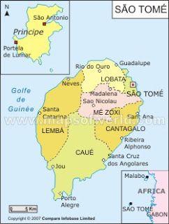 Geografia E Historia De Sao Tome E Principe Sao Tome E Principe