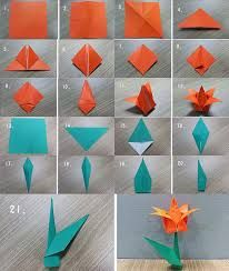 How to diy origami tulip traditional japanese art paper folding image result for origami flower mightylinksfo