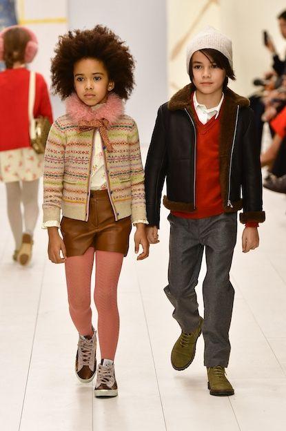 Bonpoint Winter 2017 Show Childrens Fashion Kids Fashion Fashion