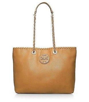 1ef166ab Tory Burch Marion Tan Tote Bag $369 | Only Tory | Tan tote bag ...
