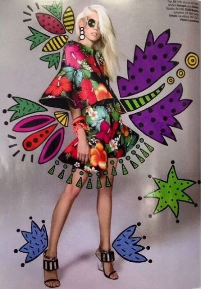 Devon Windsor for Vogue Brazil September 2014