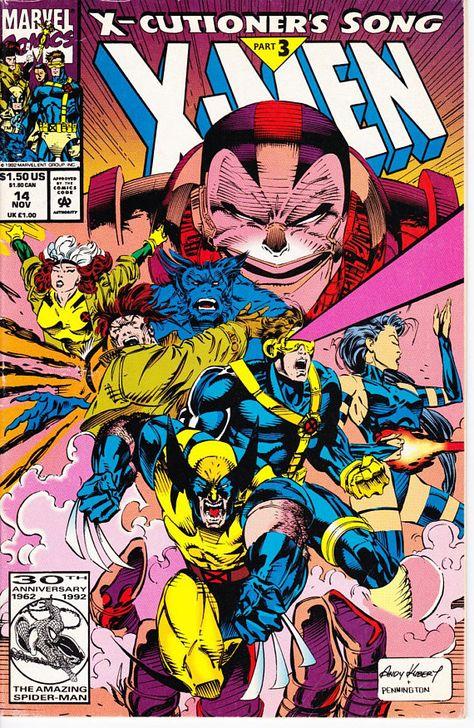 X Men 14u 1991 1st Series November 1992 Marvel Comics Grade Fine Comics Marvel Comics Marvel