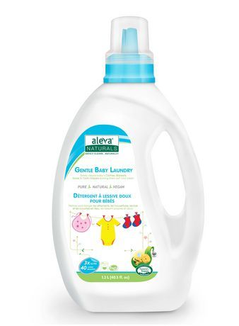 Aleva Naturals Gentle Baby Laundry Detergent Fragrance Free