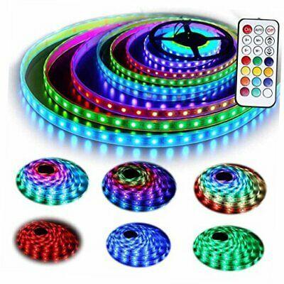 12v Rgb Led Strip Lights Kit Geekeep Addressable Dream Color Led Lighting With In 2020 Led Strip Lighting Strip Lighting Tape Lights