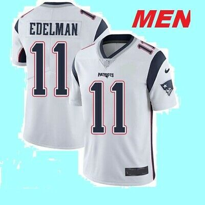 Advertisement Ebay High Quality 11 Edelman Football Jersey Patriot Blue Men S Us Size Stitched New Jersey Patriots Blue Man Football Pants
