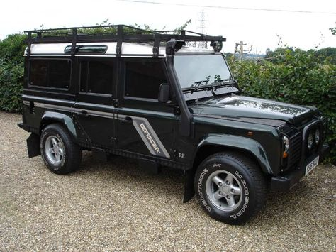 Land Rover Defender 110 Overfinch 300Tdi County Station Wagon For Sale