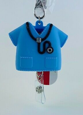 Bath Body Works Medical Field Nurse Scrubs Lanyard Pocketbac