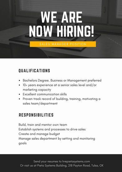 Supervisar Velo Restricciones  Job Advertisement Graphic design   Advertisement template, Hiring poster,  Job advertisement