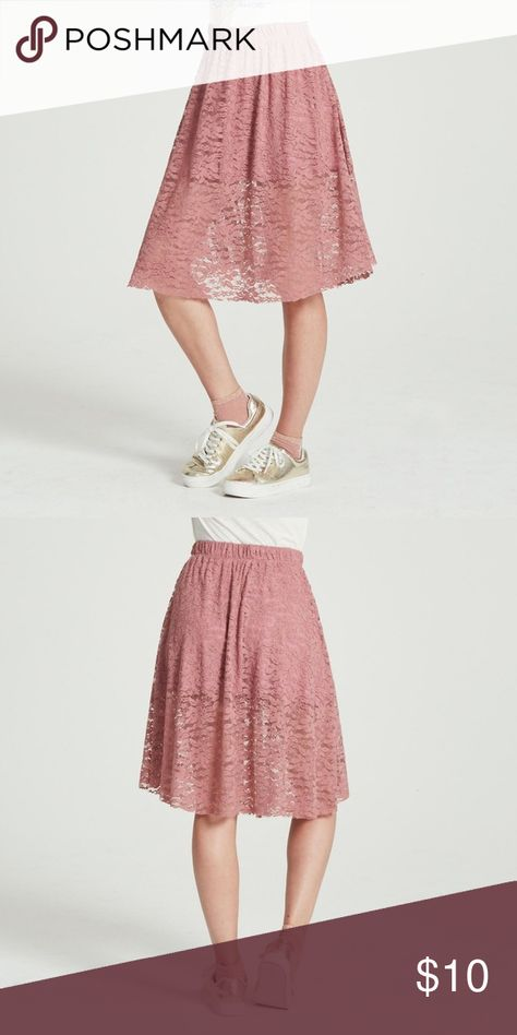 ab90689e984d69 NEW Adam Levine Women's Pink Lace Midi Skirt XL NWT (NEW WITH TAGS) Adam  Levine Women's Pink Lace Midi Skirt Size XL Description This lace midi skirt  from ...