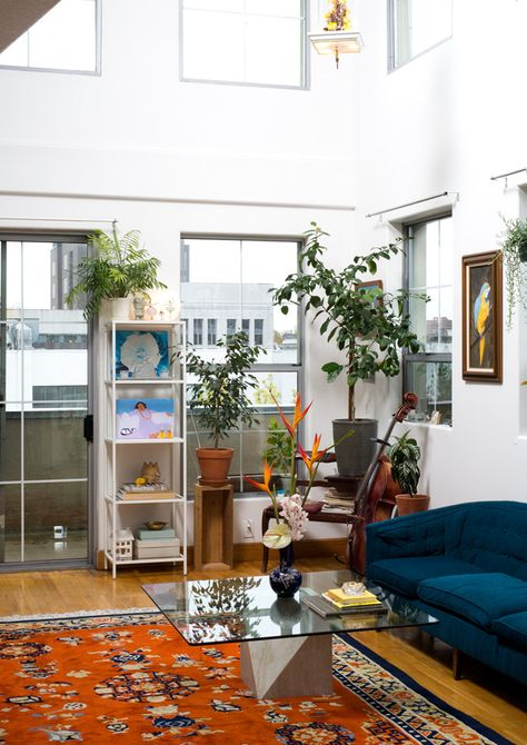 Inside The Plant-Filled Home Of The Woman Elevating Cannabis - Home Tour - Lonny