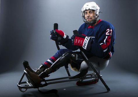 2014 Paralympic sled hockey player, Rico Roman.
