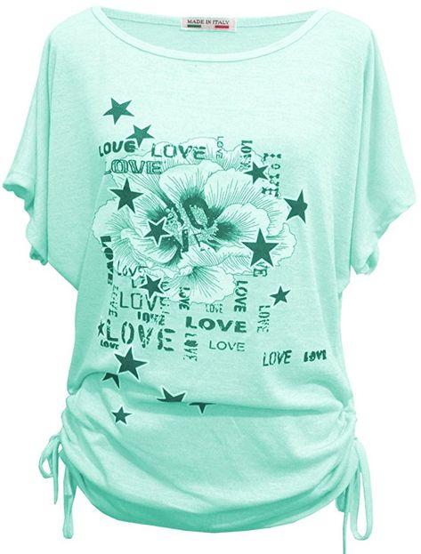 Sommer T-Shirt//Oberteile Kurzarm Emma /& Giovanni Damen
