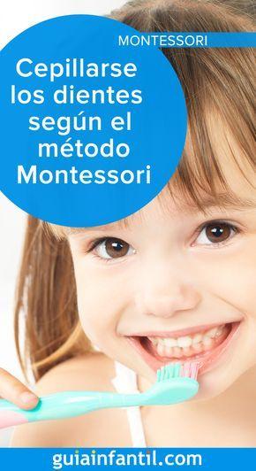 Enseña A Tu Hijo A Cepillarse Los Dientes Según El Método Montessori Educación Del Bebé Aprendizaje Niños Educacion Montessori