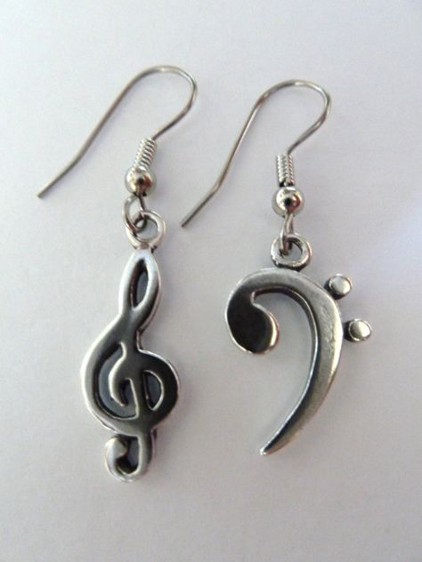 Band Gift Music Note Birthstone Earrings Music Lover Jewelry Musician Earrings Personalized Eighth Note Earrings Musical Jewelry