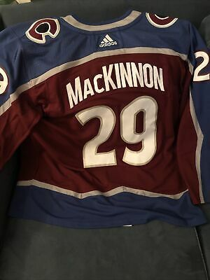Adidas Authentic Colorado Avalanche Nathan MacKinnon NHL Jersey ...