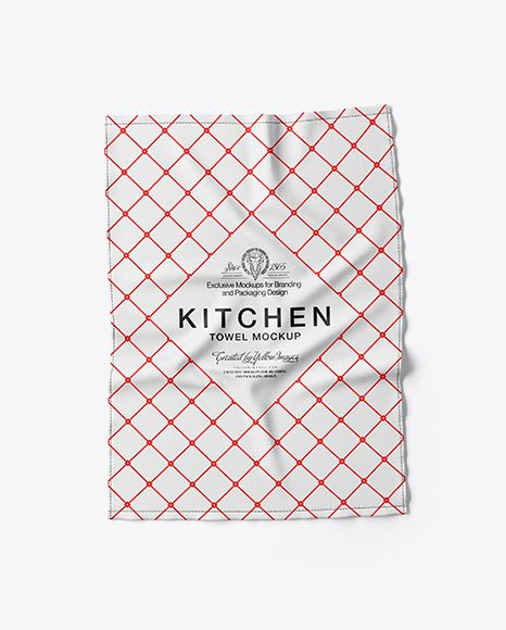 Download Kitchen Towel Mockup Top View In Object Mockups On Yellow Images Object Mockups Mockup Free Psd Free Psd Mockups Templates Stationery Mockup PSD Mockup Templates