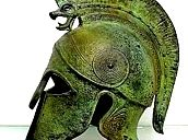 Home :: Armour & Weapons :: Full Size Helmets :: Corinthian Full Size Helmet with plume & Greek key