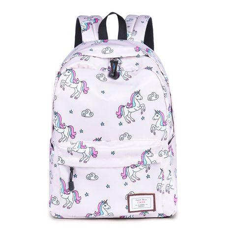 Purple Lelli Kelly Sparkly Glitter Back Pack In Metallic Dark Pink