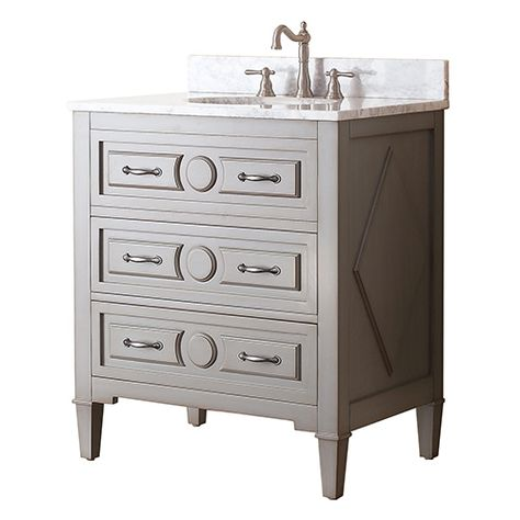 Kelly Grayish Blue 30 Inch Vanity Only Vanities Bathroom Vanities Bathroom Furniture