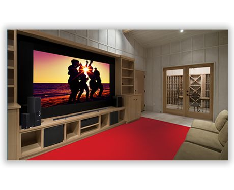 80 inch for the movie roomFeng Shui your home with a Feng Shui