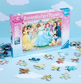ravensburger disney princess 100pc jigsaw puzzle