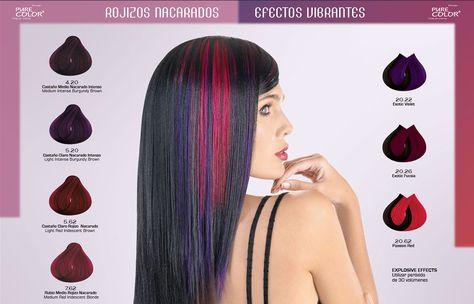 Gama de Colores - Tintes para Cabello Loquay