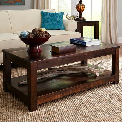 Parsons Tobacco Brown Coffee Table Coffee Table Brown Coffee Table Dark Wood Coffee Table