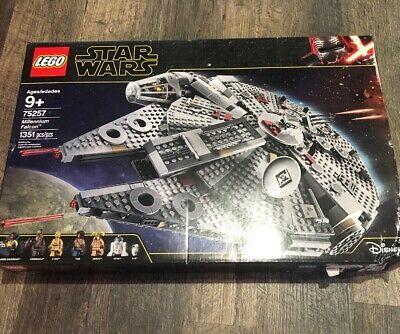 Lego Star Wars Millennium Falcon 75257 Bent Box Lego Star Lego War Lego Star Wars