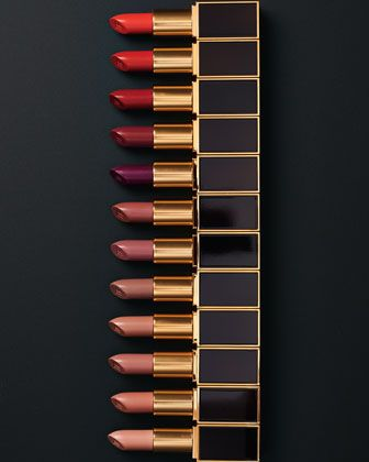 THE ONE WHO WON BEST LIPS - Tom Ford Limited Edition 12-piece Lipstick set.