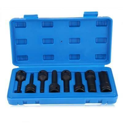 Details About 8pcs 1 2inch Drive Air Allen Hex Key H5 H19 Bit Socket Tools Set W Blue Case In 2020 Hex Key Socket Set Blue Cases
