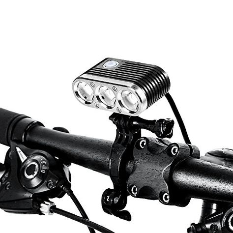 LED USB Rechargeable Bicycle light Bike light front Bycicle Headlight Camping