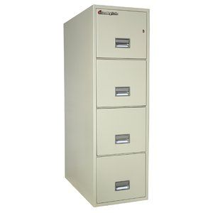 The 4 Drawer Vertical Filing Cabinet Is Compact And Economical Making It The Ideal Choice For Both Home And Office Cabinet C Filing Cabinet Storage Cabinet
