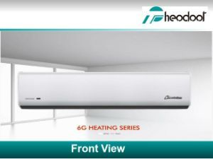 6g Series Cross Flow Door Air Curtain Air Heating Cross Flow