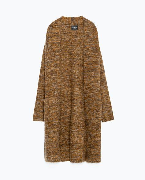20b7151cada19e Image 8 of LONG CARDIGAN from Zara | Long length cardis- best pick ...