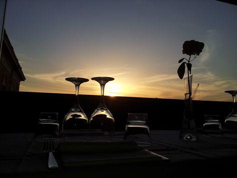 tramonto ristorante la terrazza ancona #laterrazzaancona ...
