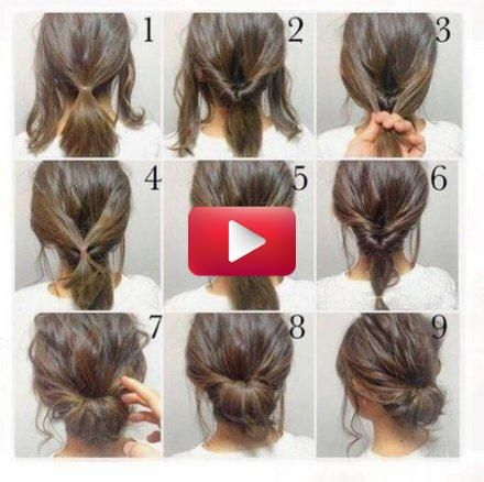 65 Ideas For Wedding Hairstyles Updo For Short Hair Shoulder Length In 2020 Short Hair Styles Easy Hair Styles Diy Hairstyles