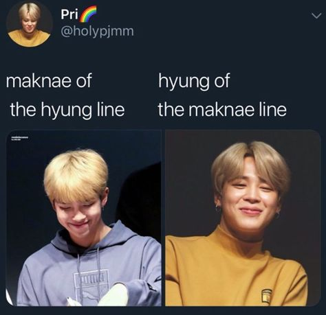 no but rm being the maknae of hyungline is a thing i think about on a daily basis