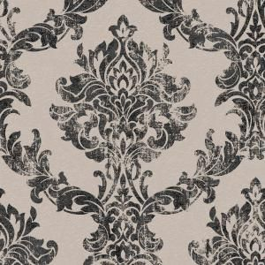 Graham /& Brown Boutique Ivory Twist Metallic Effect Embossed Washable Wallpaper