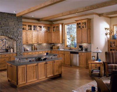 American Woodmark Townsend Oak Cabinets