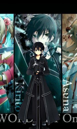 Pin By Rocki On Ideas In 2020 Sword Art Online Wallpaper Anime Wallpaper Phone Hd Anime Wallpapers